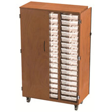 48 Tote Tray Storage Solution (21