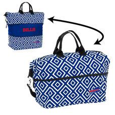 Buffalo Bills Team Logo Double Diamond Expandable Tote