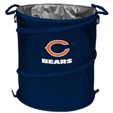 Chicago Bears Team Logo Collapsible 3-in-1 Cooler Hamper Wastebasket