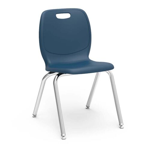 Quick Ship N2 Series Stack Chair with 18