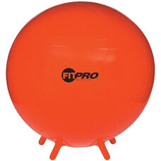 75 cm. FitPro Balls with Stability Legs in Red