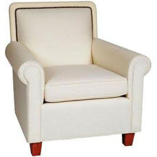 9465 Upholstered Lounge Chair w/ Skirt - Grade 1