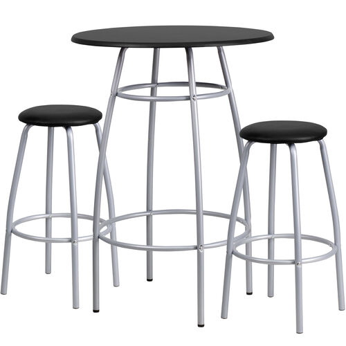 Our Bar Height Table Set with Padded Stools is on sale now.