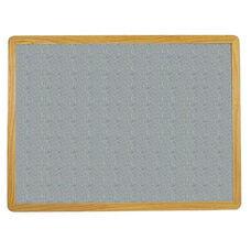 2700 Series Tackboard with Flat Wood Face Frame - Claridge Cork - 96