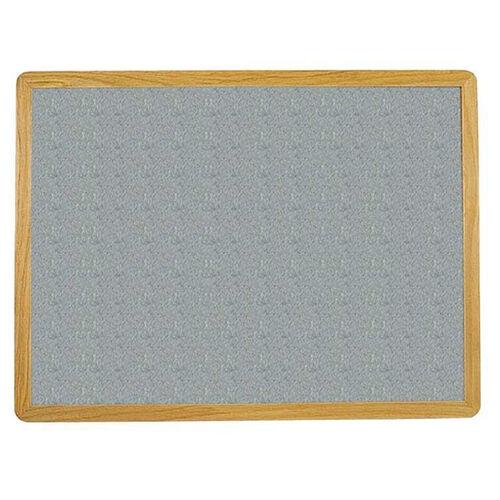 Our 2700 Series Tackboard with Flat Wood Face Frame - Claridge Cork - 96