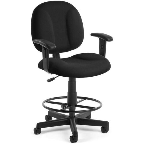 Our Comfort Superchair with Arms and Drafting Kit - Black is on sale now.