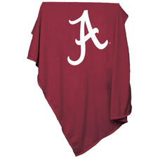 University of Alabama Team Logo Sweatshirt Blanket