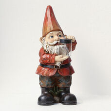 Gnome with Light Jar 20.5