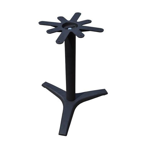 3 Prong Cast Iron Dining Height Table Base with 27