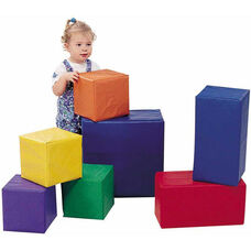 7 Piece Multicolor Sturdiblock Play Set