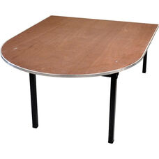 Original Series Peninsula Banquet Table with Plywood Top - 44