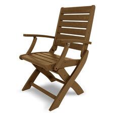 POLYWOOD® Signature Folding Chair - Teak