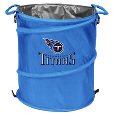 Tennessee Titans Team Logo Collapsible 3-in-1 Cooler Hamper Wastebasket