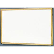 MLC Economy Series Wood Frame Markerboard - Natural Oak - 24