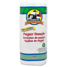 Genuine Joe Roll Towels - 2 -Ply - 80 Sheets per roll - 11