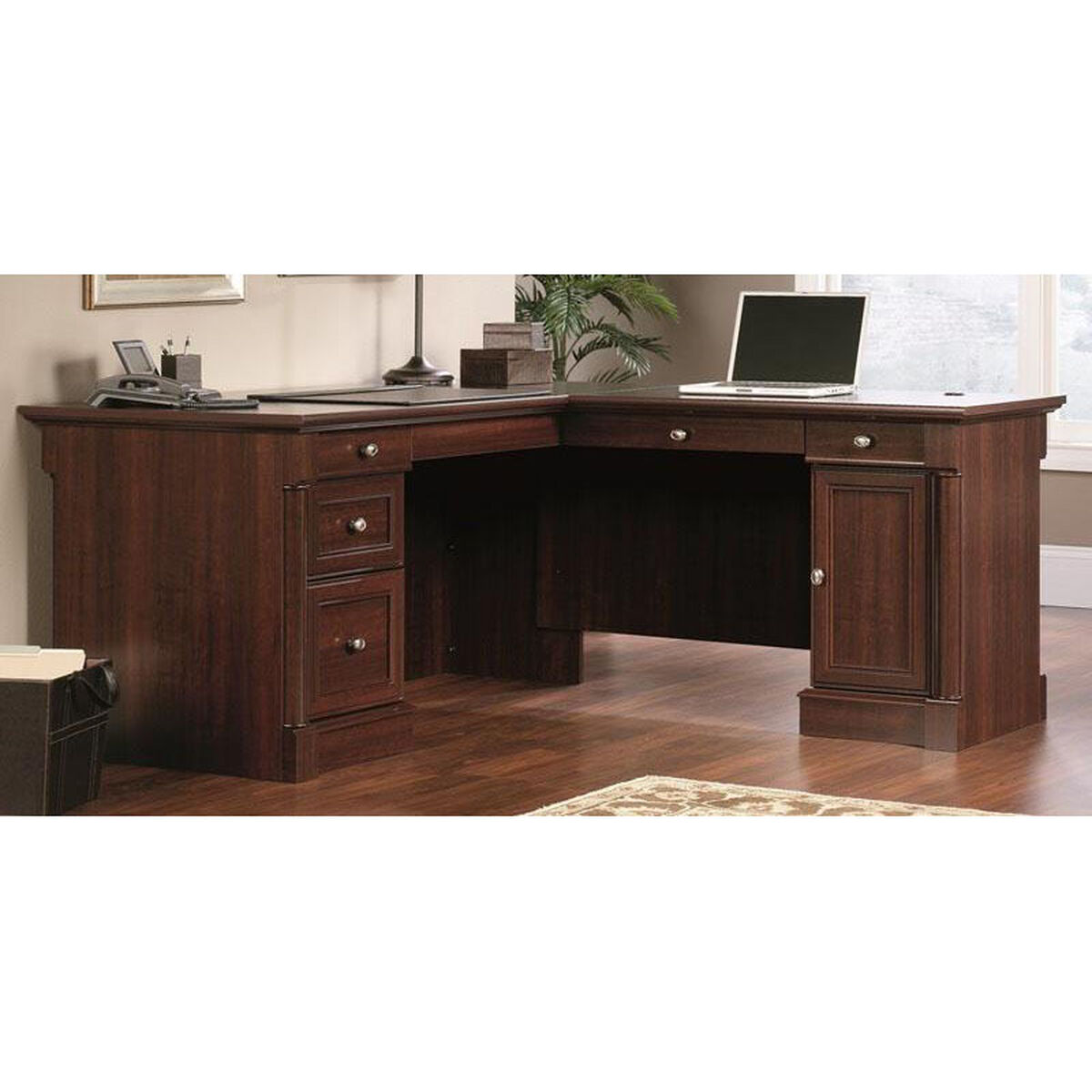 Our Palladia 68 75 W L Shape Desk Select Cherry Is On Now