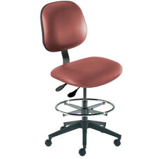 Quick Ship Belize Series Chair with Concave Seat and Reinforced Composite Base - Medium Seat Height