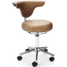 Elements Anatomy Anti-Microbial and Anti-Bacterial Vinyl Chair - Capreni Carob