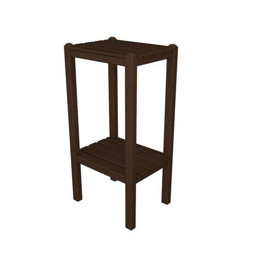 Our POLYWOOD® Bar Side Table - Mahogany is on sale now.