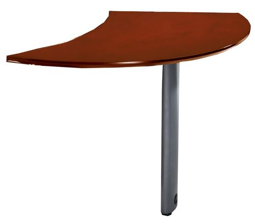 Our Napoli Curved Left Hand Desk Extension- Sierra Cherry on Cherry Veneer is on sale now.