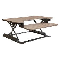 OSP Furniture Napa Desk Riser  - Urban Walnut