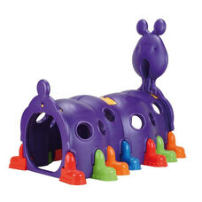 Indoor Outdoor Preschool Peek-A-Boo Happy Caterpillar Climb On Play Center