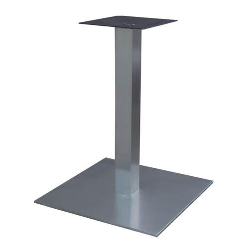 Outdoor Dining Table Base SSD Bizchaircom - Stainless steel dining table base suppliers