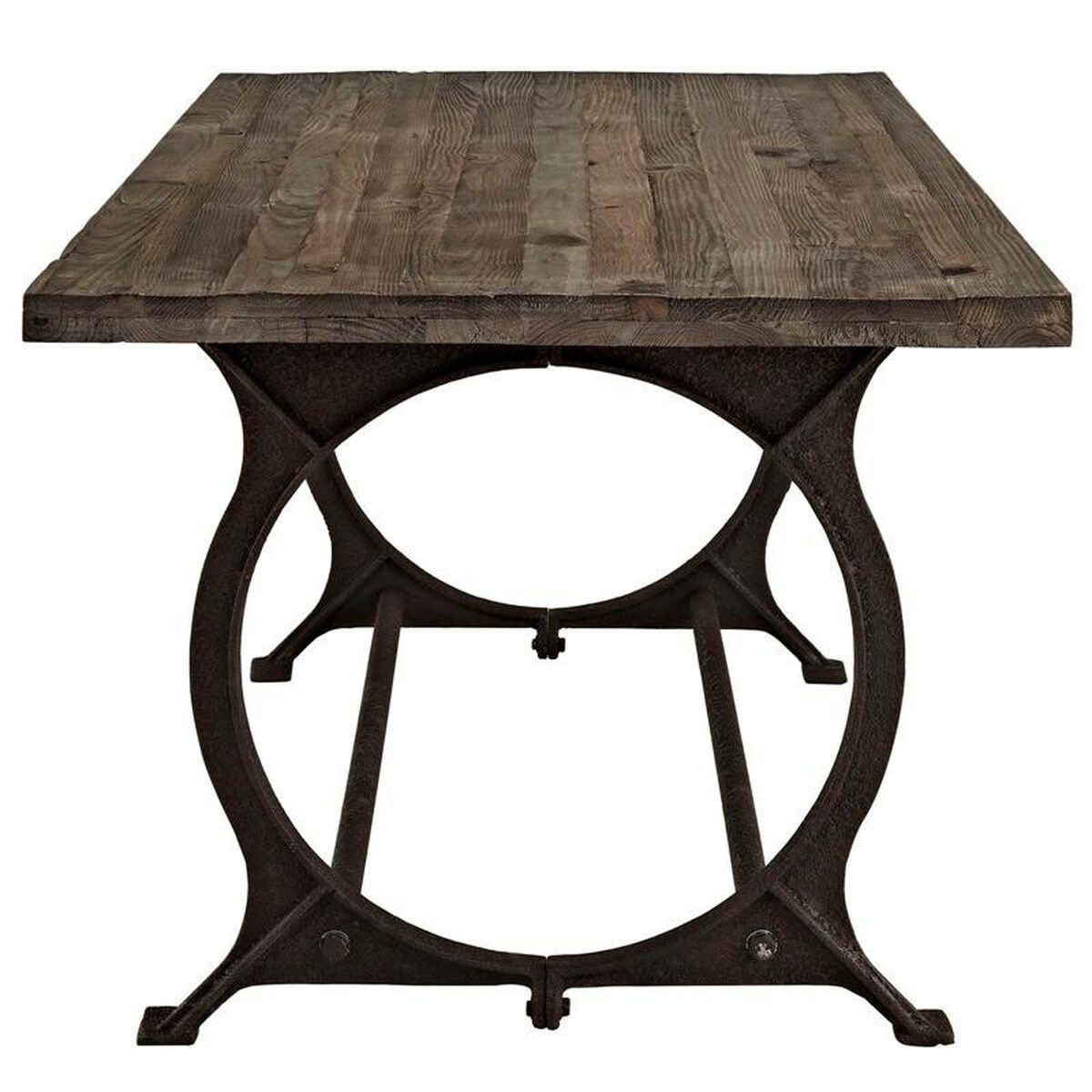 Our Effuse Wood Top Dining Table In Brown Is On Now