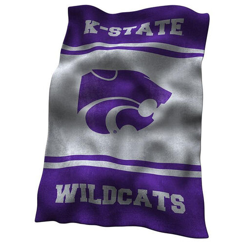 Kansas State University Team Logo Ultra Soft Blanket