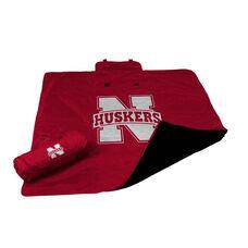 University of Nebraska Team Logo All Weather Blanket
