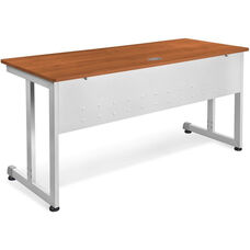 24'' D x 60'' W Modular Desk and Worktable - Cherry