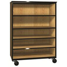 Denali 1000 Series Mobile General Storage Cabinet w/ 3 Adjustable Shelve & 1 Fixed Shelf