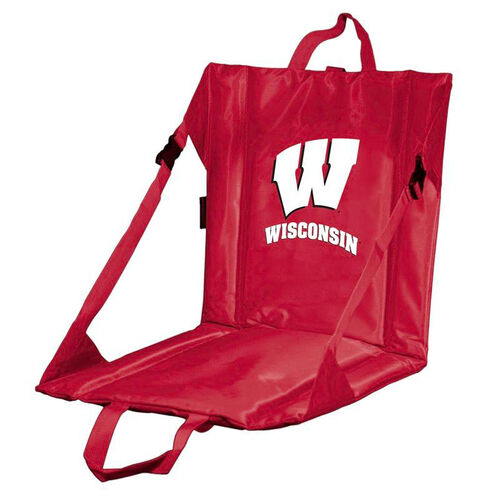 Our University of Wisconsin Team Logo Bi-Fold Stadium Seat is on sale now.