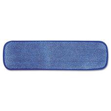 Rubbermaid® Commercial Microfiber Wet Room Pad - Split Nylon/Polyester Blend - 18