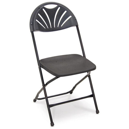 Our Series 5 Steel Frame Stackable Fanback Folding Chair with Polypropylene Seat and Back is on sale now.