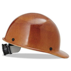 MSA Skullgard Protective Hard Hats - Ratchet Suspension - Size 6 1/2 - 8 - Natural Tan