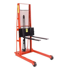 Economy Line Straddle Fork Model Hydraulic Stacker