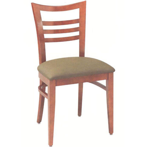 1635 Side Chair with Upholstered Seat - Grade 1