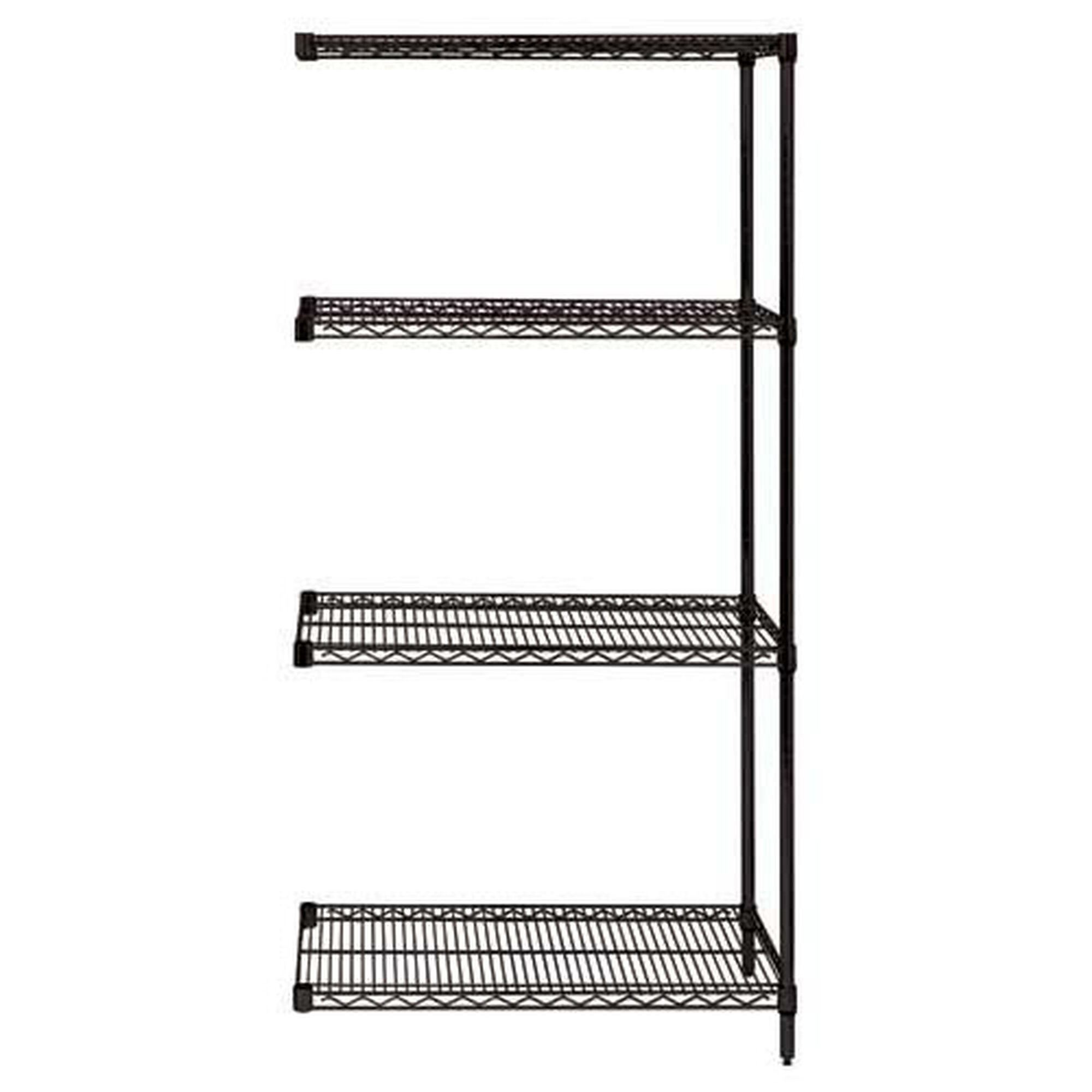 Our Black Wire Shelving 4-Shelf Add-On Units 18