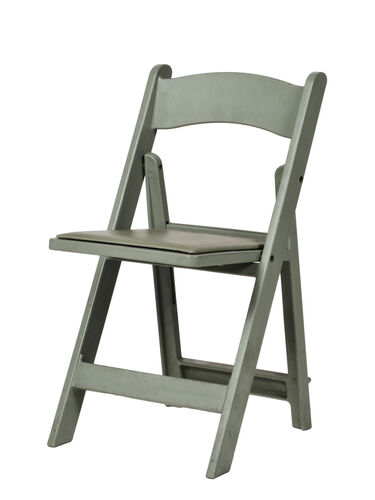 Our 1000 lb. Max Flint Gray Resin Folding Chair is on sale now.