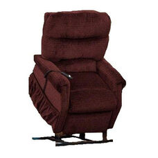 Economy Model Three Way Reclining Power Lift Chair with Magazine Pocket - Cabo Vino Fabric