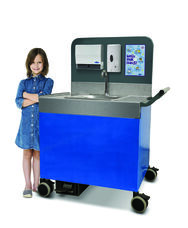 Pre-K Through 5th Grade Premium Portable Counter Height Sink