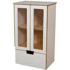 My Cottage Wooden White Kitchen Refrigerator - 21