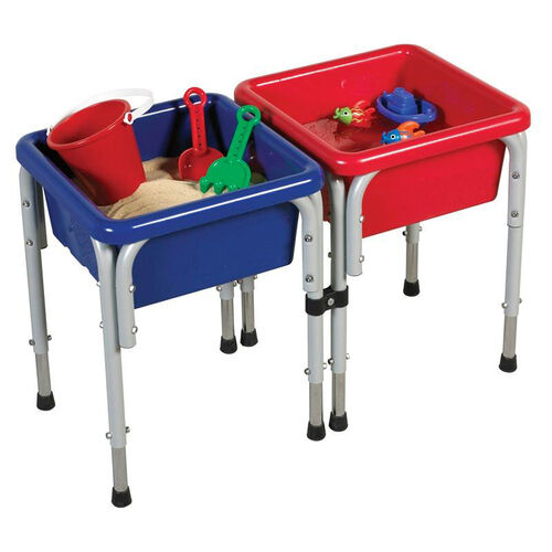Our 2 Station Square Modular Sand and Water Center with 2 Removable Basins and Lids is on sale now.