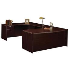 Fairplex Left Executive Work Station U Desk with .75 Peds