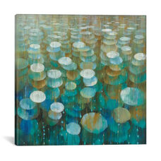 Rain Drops by Danhui Nai Gallery Wrapped Canvas Artwork