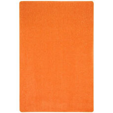 Kid Essentials Just Kidding Polyester Rug with Actionbac Backing - Tangerine Orange - 72