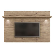 Park 1.8 Front Panel TV Mount with Overhead LED Lights and Pro Touch Finish - Nature