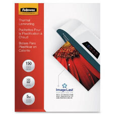 Fellowes Letter-Size Laminating Pouches - Pack Of 150