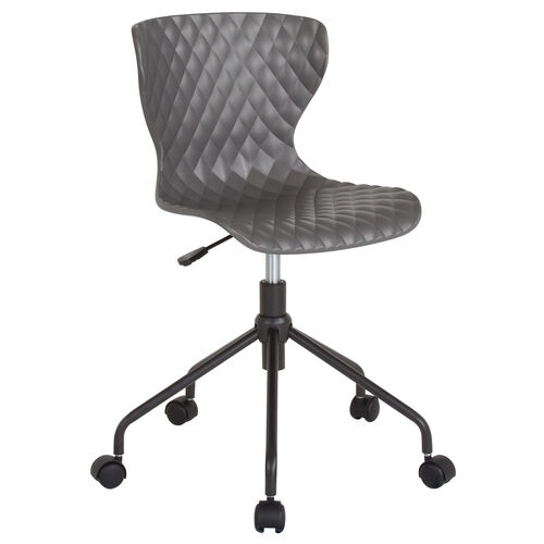Our Brockton Contemporary Design Gray Plastic Task Office Chair is on sale now.